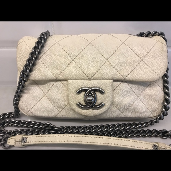 "6453c6c712a7bc CHANEL Handbags - Authentic Chanel Caviar Quilted ""Simply CC"" Flap"